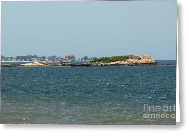 Saybrook Greeting Cards - Looking Towards Saybrook Greeting Card by Meandering Photography