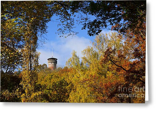 Lookout Tower Greeting Cards - Lookout Tower Greeting Card by Lutz Baar