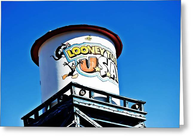 Looney Tunes Greeting Cards - Looney Tunes III Greeting Card by Malania Hammer