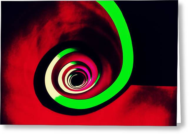 Staircase Greeting Cards - Loop Greeting Card by Peter Benkmann