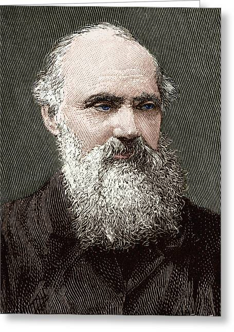 Historical Pictures Greeting Cards - Lord Kelvin, Scottish Physicist Greeting Card by Sheila Terry
