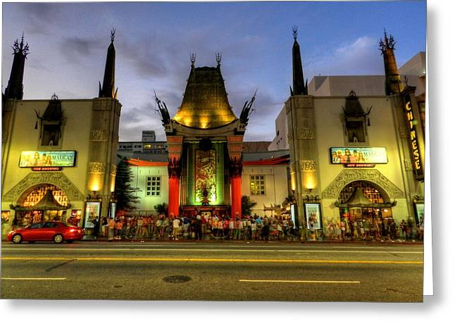 Mann Greeting Cards - Los Angeles 007 Greeting Card by Lance Vaughn