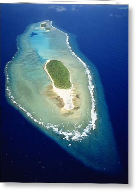 Recently Sold -  - Warner Park Greeting Cards - Losiep Atoll Greeting Card by Mitch Warner - Printscapes