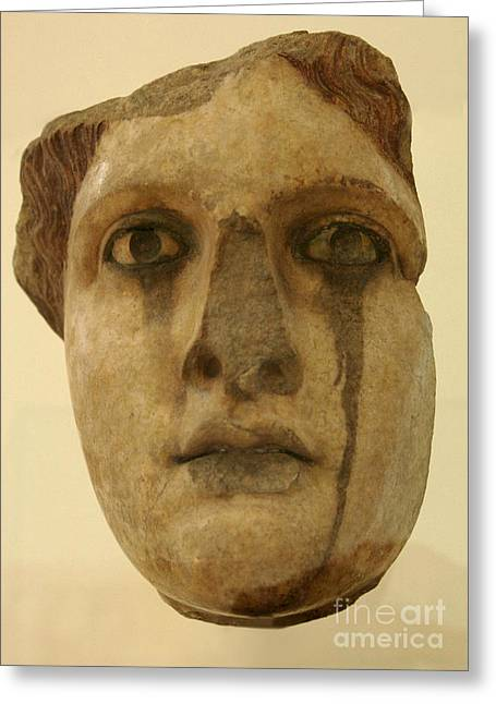 Greek Sculpture Greeting Cards - Lost Ages Greeting Card by Bob Christopher
