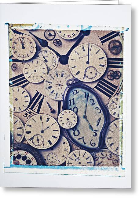 Punctual Greeting Cards - Lost Time Greeting Card by Garry Gay