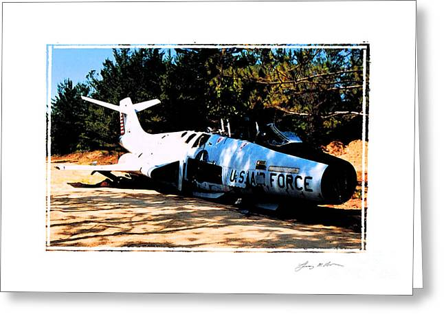 F-101 Greeting Cards - Lost Voodoo Magic Greeting Card by Tommy Anderson