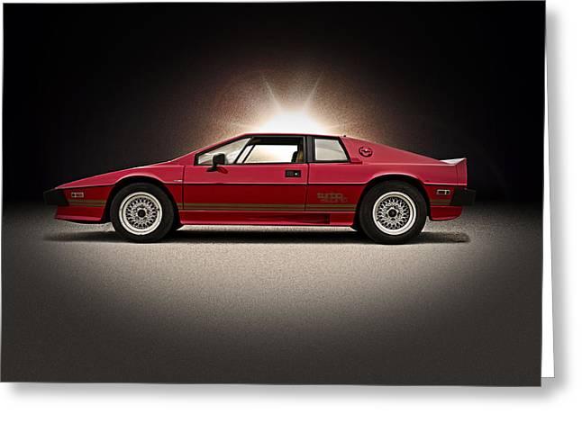 Lotus Sportscar Greeting Cards - Lotus Esprit Greeting Card by Douglas Pittman