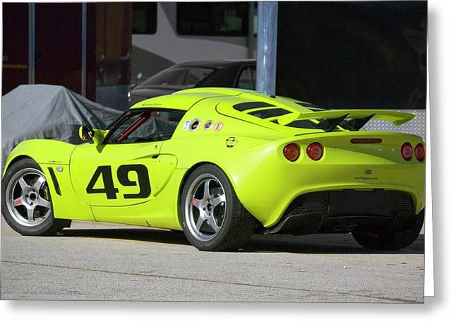 Lotus Sportscar Greeting Cards - Lotus Exige Greeting Card by Alan Raasch