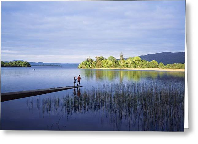 Female Friendship Greeting Cards - Lough Gill, Co Sligo, Ireland Greeting Card by The Irish Image Collection