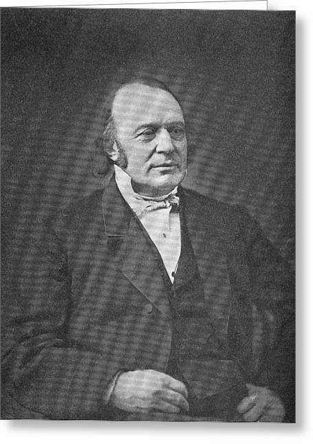 Surname A Greeting Cards - Louis Agassiz, American-swiss Naturalist Greeting Card by Science, Industry & Business Librarynew York Public Library