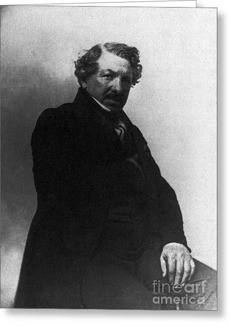 Names Of Artists Greeting Cards - Louis Daguerre, French Inventor Greeting Card by Photo Researchers