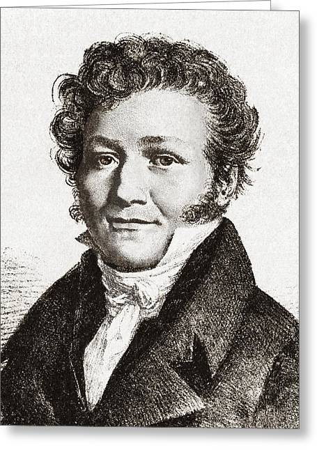 Surname T Greeting Cards - Louis-jacques Thenard, French Chemist Greeting Card by Sheila Terry