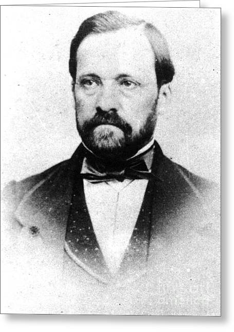 Fermentation Greeting Cards - Louis Pasteur, French Chemist Greeting Card by Science Source