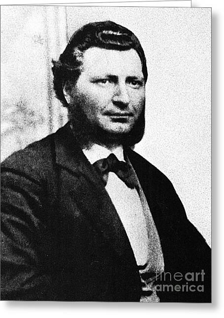 French Leaders Greeting Cards - Louis Riel Greeting Card by Granger