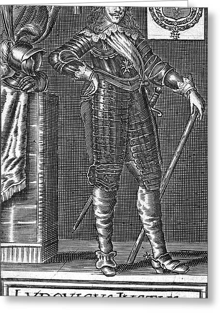 Louis Xiii (1601-1643) Greeting Card by Granger