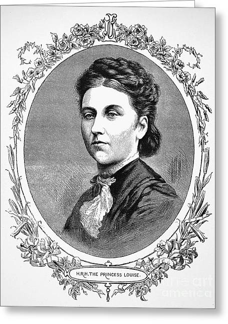 Duchess Greeting Cards - Louise Argyll (1848-1939) Greeting Card by Granger