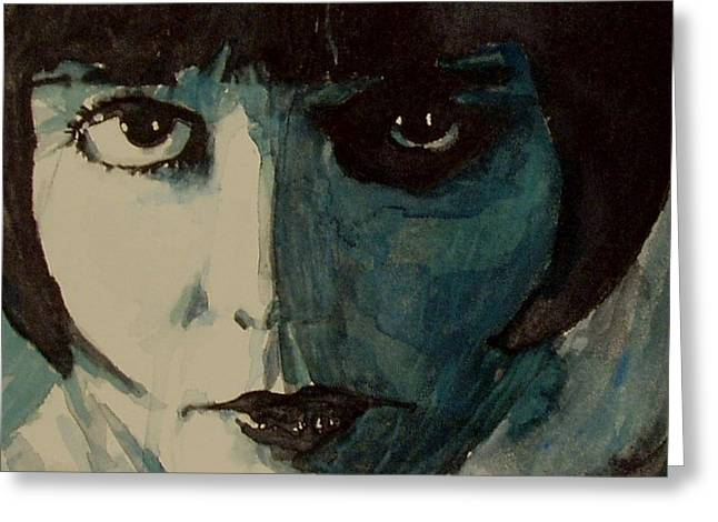Louise Greeting Cards - Louise Brooks Greeting Card by Paul Lovering
