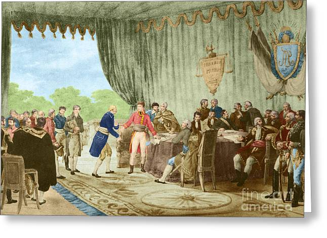 Louisiana Purchase, 1803 Greeting Card by Photo Researchers