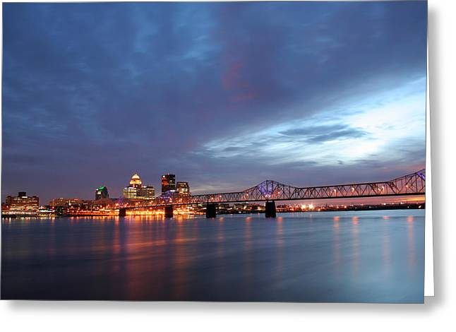 Louisville Kentucky Greeting Card by Darren Fisher