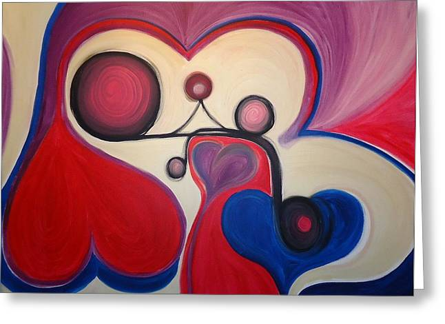 Cory Green Greeting Cards - Love - To have a feeling of intense desire and attraction toward. Greeting Card by Cory Green