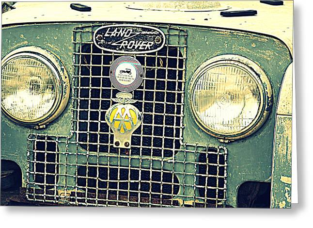 Grate Greeting Cards - Love a Landy Greeting Card by Deborah Hall Barry