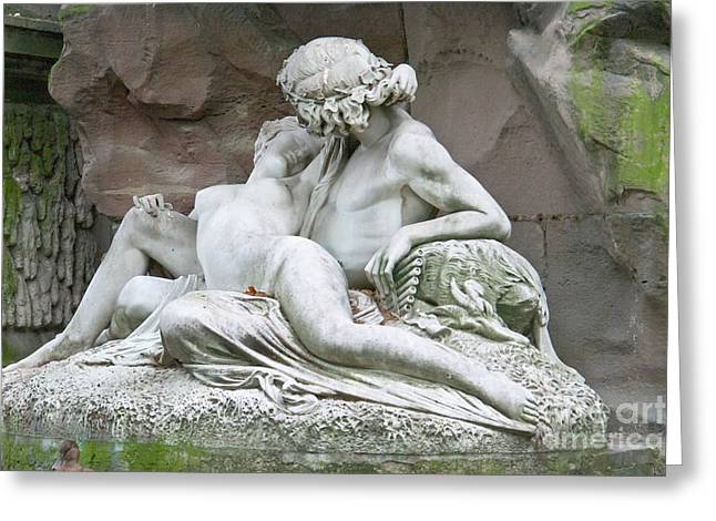 Galatea Greeting Cards - Love - Acis and Galatea Greeting Card by Fabrizio Ruggeri