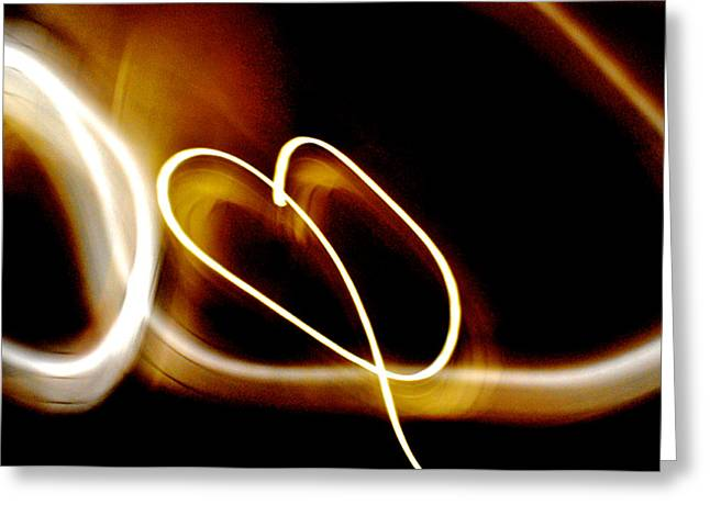 Inner Reality Greeting Cards - Love At First Sight Greeting Card by Henry Rowland