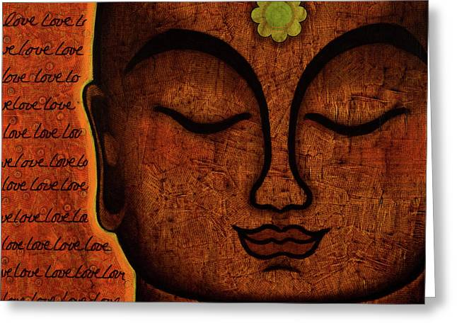 Samadhi Greeting Cards - Love Greeting Card by Gloria Rothrock