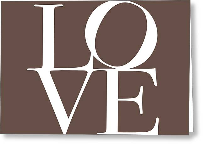 Chic Digital Greeting Cards - Love in Chocolate Greeting Card by Michael Tompsett