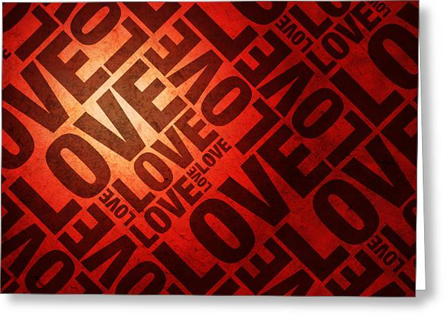 Crimson Greeting Cards - Love Letters Greeting Card by Michael Tompsett