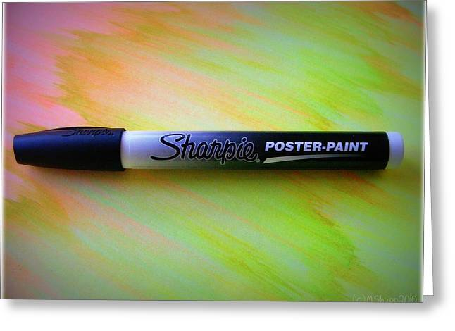 Sharpie Markers Greeting Cards - L.o.v.e. Greeting Card by Mandy Shupp