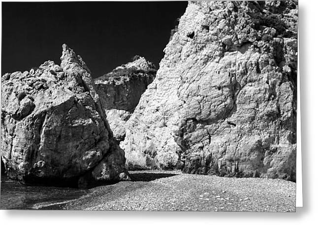 Love Rocks Greeting Card by John Rizzuto
