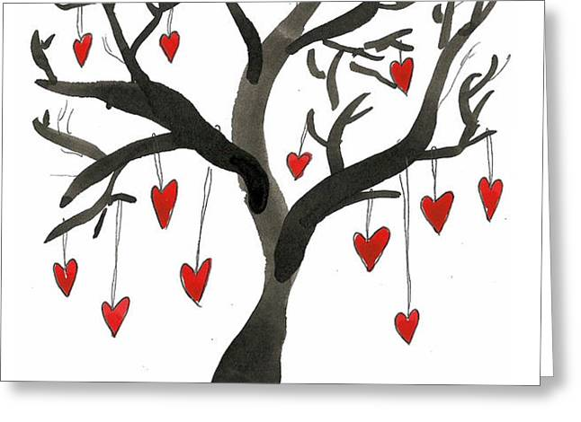 Love Will Grow Greeting Card by Sarah Benning