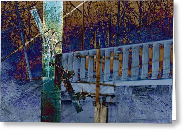 Loveland Bridge Greeting Card by Robert Glover