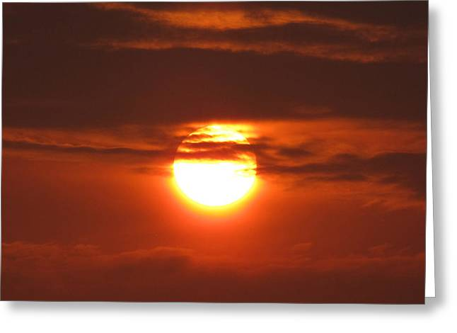 """sunset Photography"" Greeting Cards - Lovely Evening Greeting Card by Evelyn Patrick"