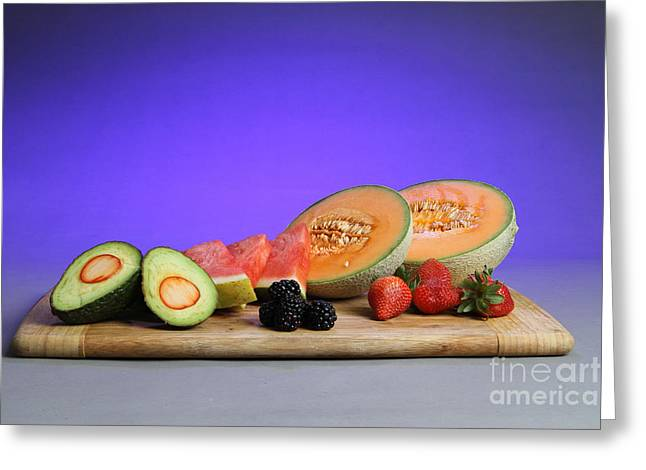 Watermelon Greeting Cards - Low Carb Fruits Greeting Card by Photo Researchers, Inc.