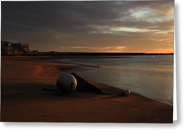 Jeremy Greeting Cards - Low Tide at Dawn  Greeting Card by Jeremy McKay