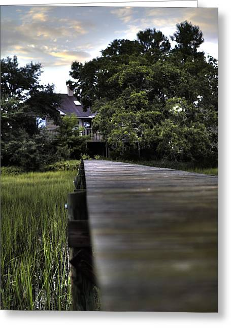 Charleston Greeting Cards - Lowcountry Living Greeting Card by Dustin K Ryan