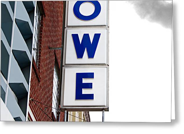 Lowe Drug Store Sign Color Greeting Card by Andee Design