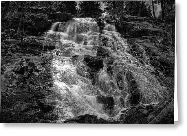 Lowered Greeting Cards - Lower Eagle Falls Lake Tahoe Greeting Card by Scott McGuire