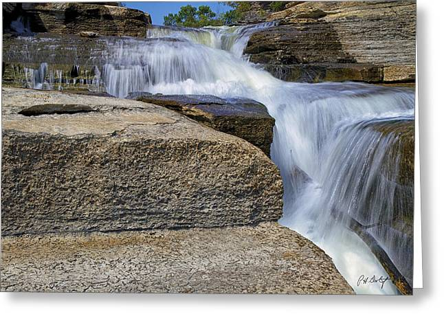 Bedrock Greeting Cards - Lower Falls at Fourth Chute Greeting Card by Phill  Doherty