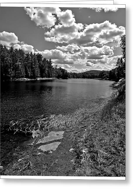 Lower Madawaska River Greeting Card by Yves Pelletier