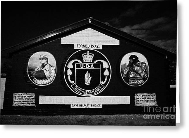 Loyalist Greeting Cards - Loyalist Uda Wall Mural Greeting Card by Joe Fox