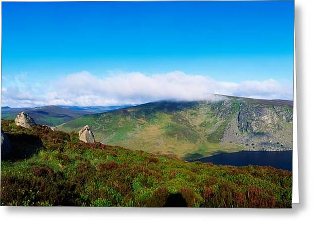 Infertile Greeting Cards - Luggala And Lough Tay, Co Wicklow Greeting Card by The Irish Image Collection