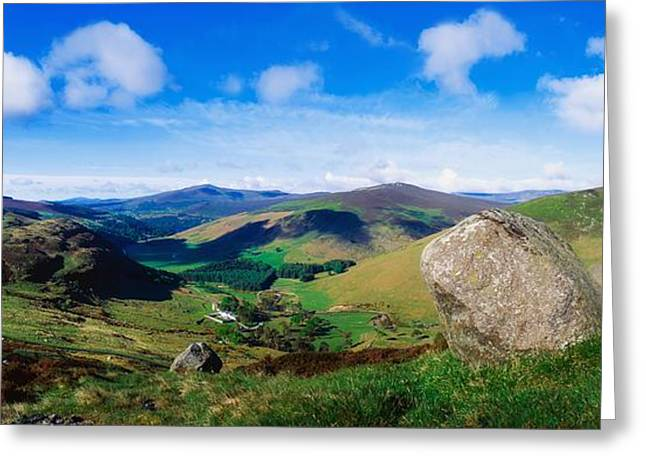 Infertile Greeting Cards - Luggala, Co Wicklow, Ireland Greeting Card by The Irish Image Collection