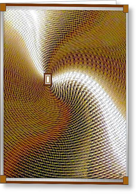 Will Power Greeting Cards - Luminous Energy 16 Greeting Card by Will Borden
