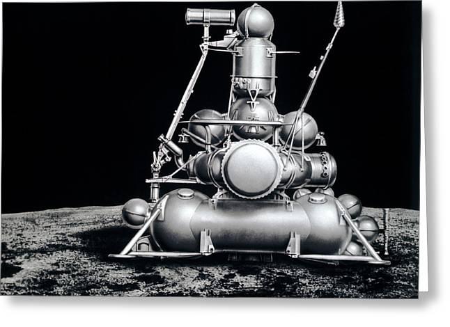 Luna Greeting Cards - Luna 17 Spacecraft Greeting Card by Ria Novosti