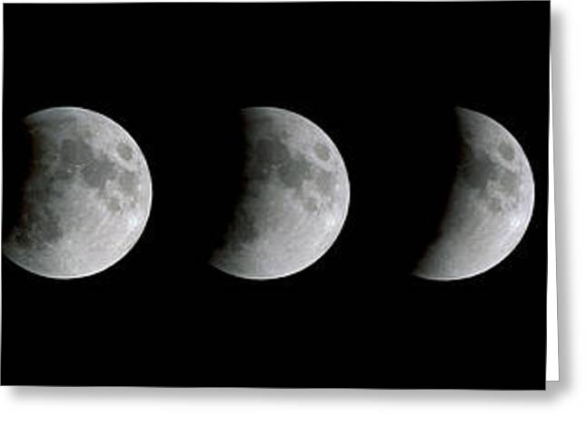 21st Greeting Cards - Lunar Eclipse Greeting Card by Dr Fred Espenak