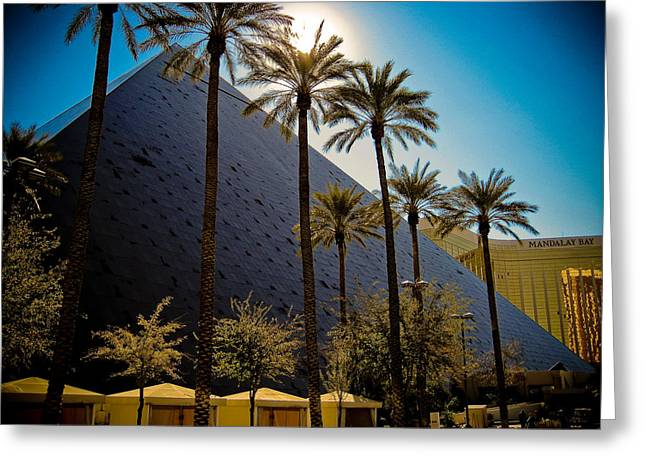Luxor Greeting Cards - Luxor Las Vegas Greeting Card by Patrick  Flynn