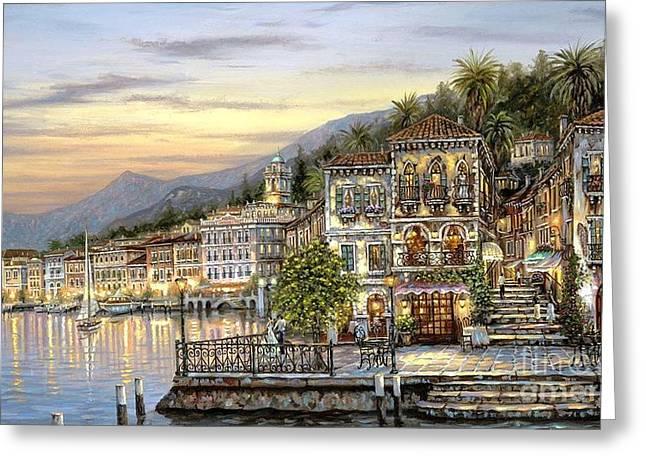 Landscape Greeting Cards - Luzern Greeting Card by Vishal Lakhani